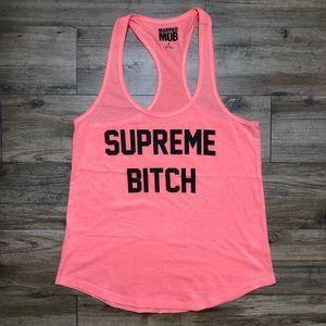 Supreme B Orange Tank Top